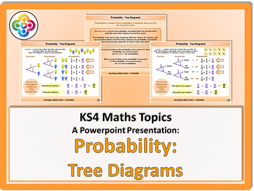 Probability - Tree Diagrams For Ks4